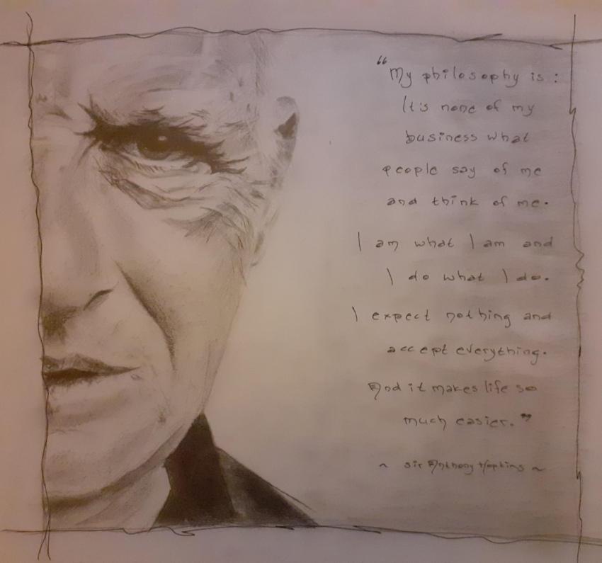 Anthony Hopkins by -yvonne-